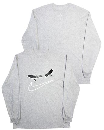 Nike Long Sleeve Crew Neck Pullovers Unisex Street Style Collaboration 5