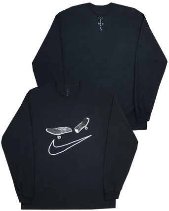Nike Long Sleeve Crew Neck Pullovers Unisex Street Style Collaboration 2