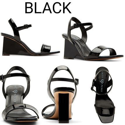 Open Toe Casual Style Plain Party Style Strap Sandals