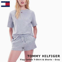 Tommy Hilfiger Plain Cotton Co-ord Lounge & Sleepwear