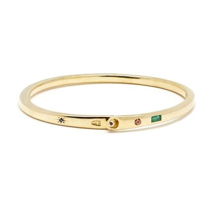 Bangles Casual Style Unisex Street Style Party Style Brass