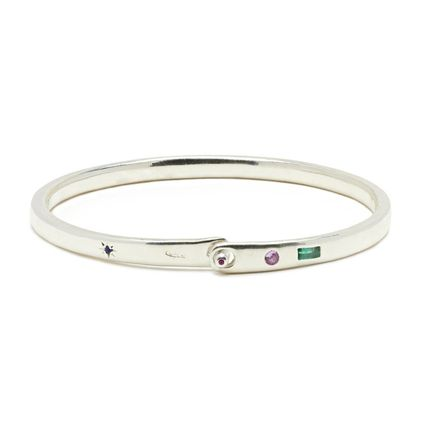 Bangles Casual Style Unisex Street Style Party Style Silver