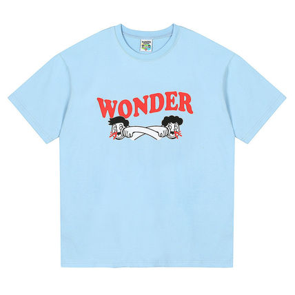 WONDER VISITOR More T-Shirts Unisex Street Style T-Shirts 3