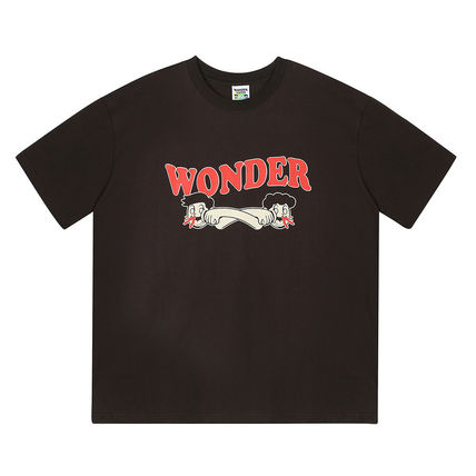 WONDER VISITOR More T-Shirts Unisex Street Style T-Shirts 4