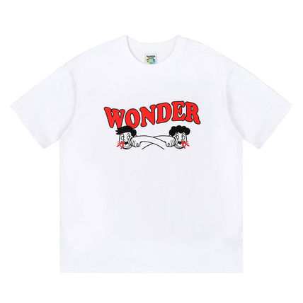 WONDER VISITOR More T-Shirts Unisex Street Style T-Shirts 5