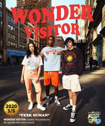 WONDER VISITOR More T-Shirts Unisex Street Style T-Shirts 9