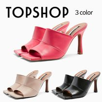 TOPSHOP Casual Style Leather Sandals