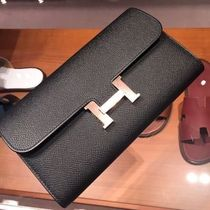 HERMES CONSTANCE Collaboration Folding Wallets