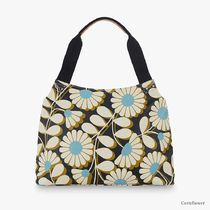 Orla Kiely Flower Patterns Casual Style Canvas Blended Fabrics