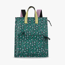 Orla Kiely Flower Patterns Casual Style Canvas 2WAY Logo Backpacks