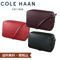 Cole Haan Casual Style Faux Fur Street Style Plain Leather Bold