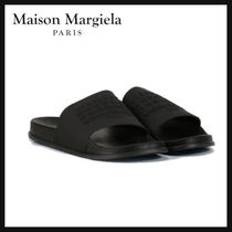 Maison Margiela Unisex Street Style Plain Shower Shoes PVC Clothing Logo