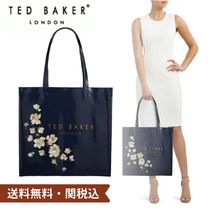 TED BAKER Flower Patterns Monogram Casual Style Street Style A4 Plain