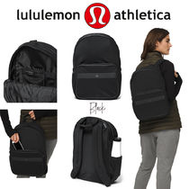 lululemon Casual Style Unisex Faux Fur A4 Office Style Logo Military