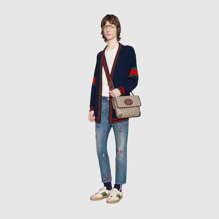 GUCCI More Jeans Tapered Jeans With Symbols 3