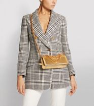 TOM FORD Street Style 2WAY Plain Leather Party Style Elegant Style