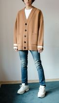 NOT N NOT Street Style Cotton Oversized Cardigans