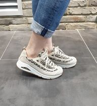 SKECHERS Casual Style Street Style Collaboration Low-Top Sneakers