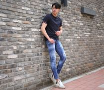 D SQUARED2 Unisex Street Style Cotton Jeans