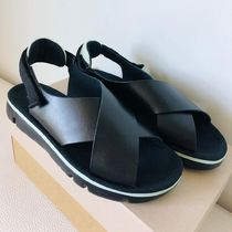 CAMPER Casual Style Leather Sport Sandals Flat Sandals