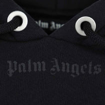 Palm Angels Hoodies Pullovers Unisex Street Style Long Sleeves Cotton Oversized 7