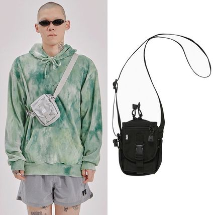 Unisex Street Style Plain Crossbody Bag Small Shoulder Bag