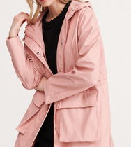 RESERVED Casual Style Street Style Plain Medium Parkas