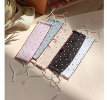 BEIGE CHUU Dots Casual Style Street Style Cotton Party Style