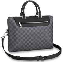 Louis Vuitton Leather Logo Business & Briefcases