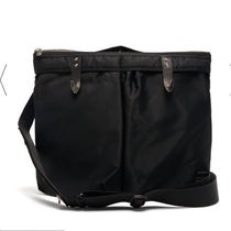 TOGA Casual Style 3WAY Plain Leather Office Style Crossbody