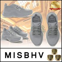 MISBHV Platform Round Toe Rubber Sole Casual Style Street Style