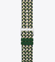 Tory Burch Casual Style Leather Elegant Style Apple Watch Belt Watches