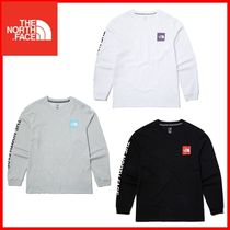 THE NORTH FACE WHITE LABEL Unisex Street Style Logo Outdoor T-Shirts