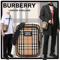 Burberry Street Style Messenger & Shoulder Bags