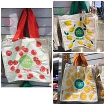 WHOLE FOODS MARKET Tropical Patterns Unisex Canvas Street Style Collaboration
