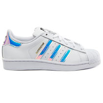 adidas SUPERSTAR Platform Casual Style Unisex Faux Fur Blended Fabrics