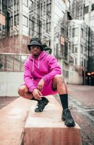 boohoo Unisex Street Style Co-ord Sweats Neon Color Two-Piece Sets