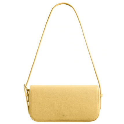 Casual Style Plain Party Style Logo Shoulder Bags