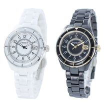 Coach Casual Style Round Party Style Quartz Watches Ceramic