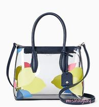 kate spade new york Tropical Patterns Casual Style 2WAY Crystal Clear Bags