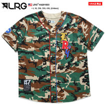 LRG Camouflage Unisex Street Style Cotton Short Sleeves