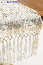 Anthropologie Tassel Fringes Tablecloths & Table Runners