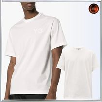 Y-3 Street Style Plain Cotton Short Sleeves Logo Designers