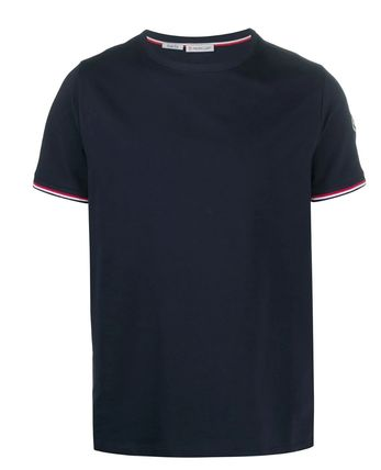 MONCLER More T-Shirts Plain Cotton Short Sleeves Logo T-Shirts 4