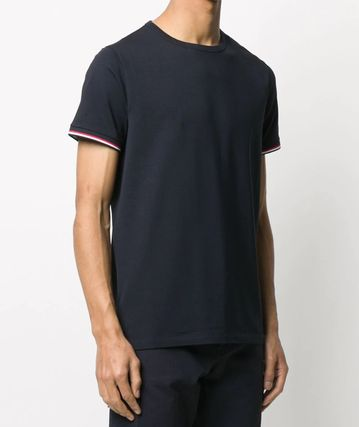MONCLER More T-Shirts Plain Cotton Short Sleeves Logo T-Shirts 8