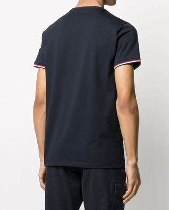 MONCLER More T-Shirts Plain Cotton Short Sleeves Logo T-Shirts 9