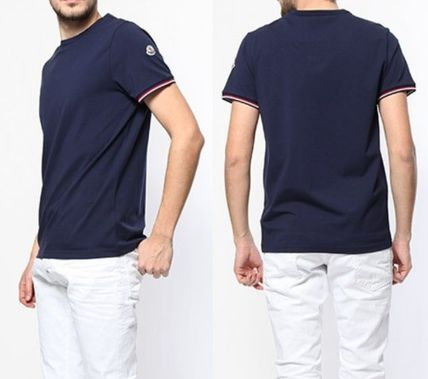 MONCLER More T-Shirts Plain Cotton Short Sleeves Logo T-Shirts 2