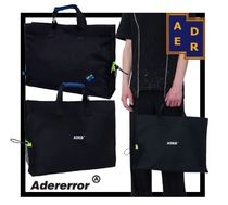 ADERERROR Casual Style Unisex Street Style Totes