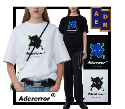 ADERERROR More T-Shirts Unisex Street Style T-Shirts