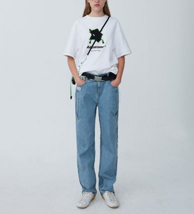 ADERERROR More T-Shirts Unisex Street Style T-Shirts 2